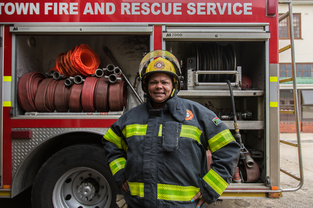 Patricia Mitas, Firefighter Established Africa
