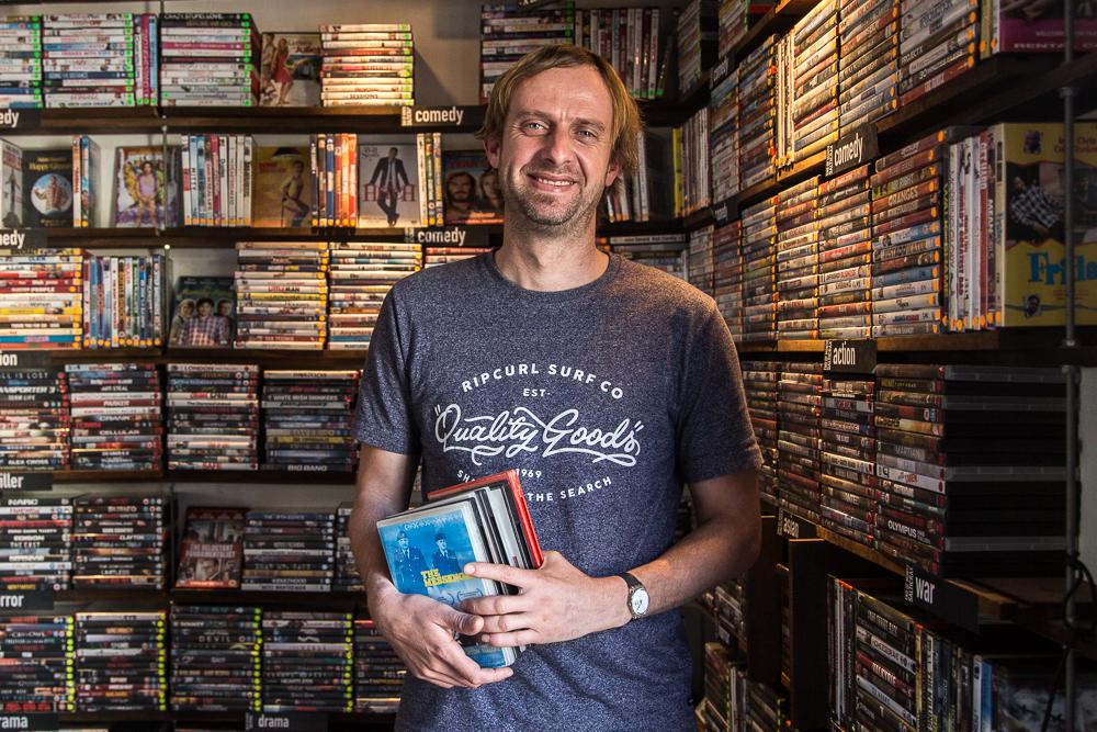 Chrustiaan Stroebel, Video Shop Assistant Established Africa
