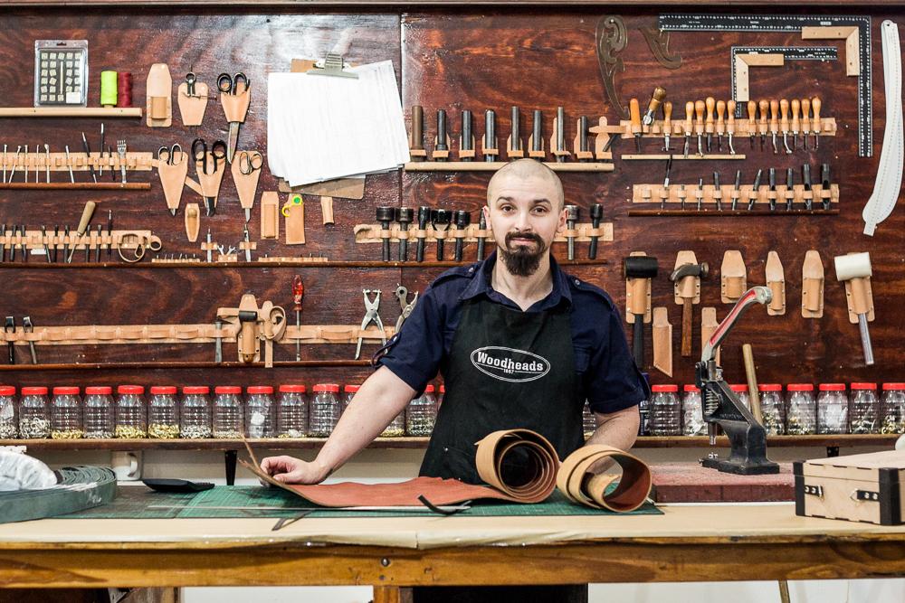Alan Cuba, Leather Craftsman Established Africa
