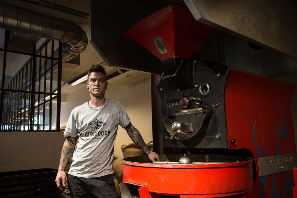 Grant Browning, Coffee Roaster Established Africa